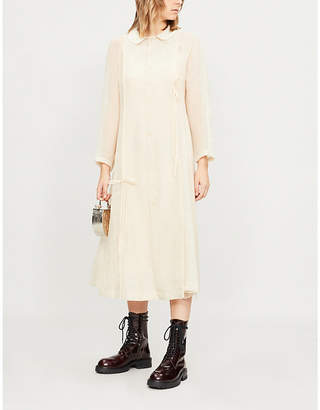 RENLI SU Flared-skirt woven dress