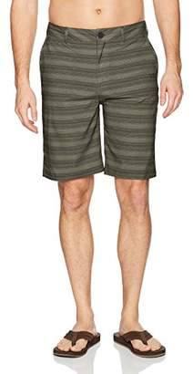 Quiksilver Men's Stripe Amphibian 21 Hybrid Short