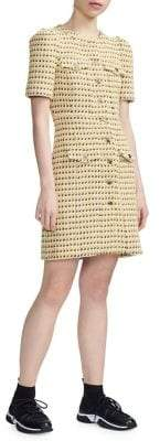 Maje Rill Tweed Sheath Dress