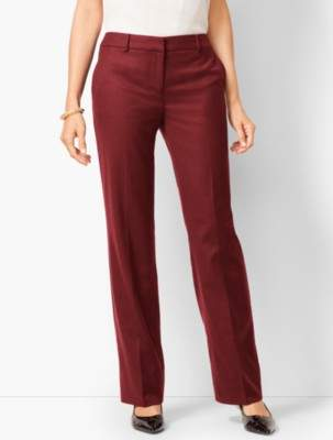 Talbots Luxe Italian Flannel Windsor Pants