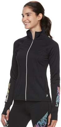 Fila Sport Women's SPORT Reflective Thumb Hole Jacket
