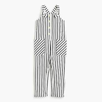 J.Crew Girls' cotton jumpsuit in stripes