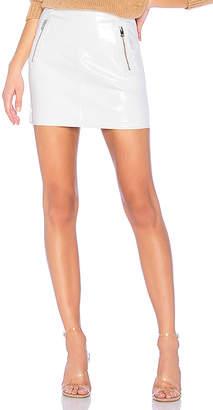 LAMARQUE X REVOLVE Haze Leather Skirt