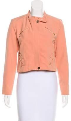 IRO Cropped Zip-Up Jacket