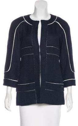 Chanel Silk-Blend Jacket