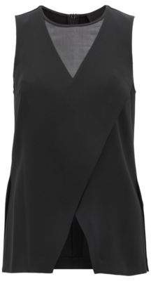 BOSS Hugo Asymmetrical Top Ilarana BE 10 Black