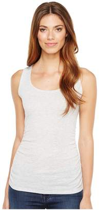 Lilla P Shirred Scoop Tank Top Women's Sleeveless