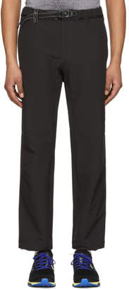 and Wander Black 2-Way Stretch Long Trousers