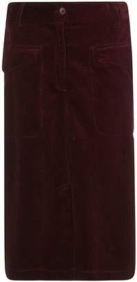 Aspesi Midi A-line Skirt