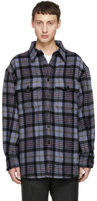 Wooyoungmi Blue Check Shirt