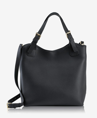 GiGi New York Olivia Shopper, Black Pebble Grain