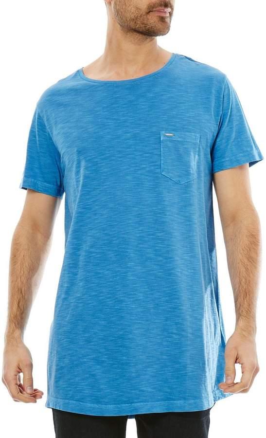 Longer - Kurzärmeliges T-Shirt - blau