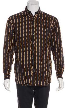 Etro Linen Striped Shirt