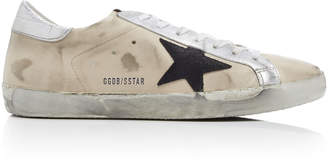 Golden Goose Super Star Distressed Leather Sneakers