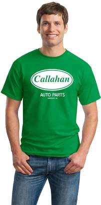 Callahan Ann Arbor T-shirt Co. AUTO PARTS Unisex T-shirt / Farley 90s Comedy Tommy Boy Tribute