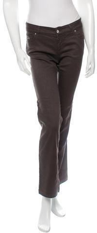 GucciGucci Mid-Rise Straight-Leg Jeans