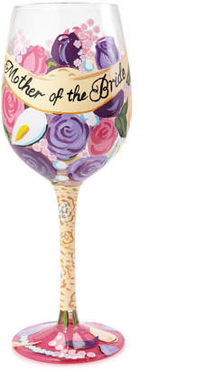 Enesco Lolita Mother of the bride Wine Glass