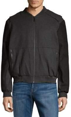 Elie Tahari Waterproof Varsity Jacket