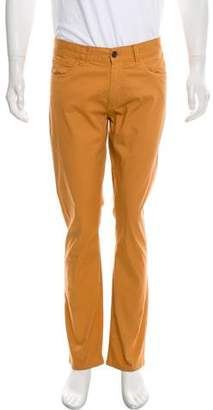 Canali Flat Front Casual Pants