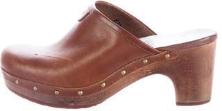 UGGUGG Australia Abbie Leather Clogs