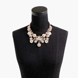 J.Crew Flower blossom statement necklace