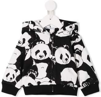 Dolce & Gabbana panda print zipped hoodie