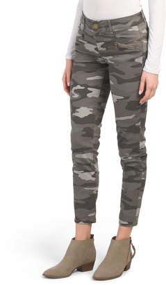 9e1c9d90abea2 Womens Camo Ankle Zip Pants - ShopStyle