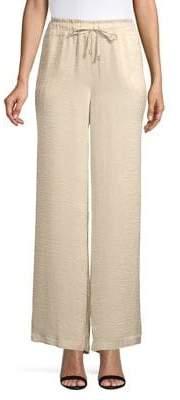 Ellen Tracy x Irina Shayk Wide-Leg Soft Pants