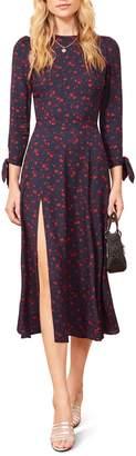 Reformation Zelda Double Slit Dress