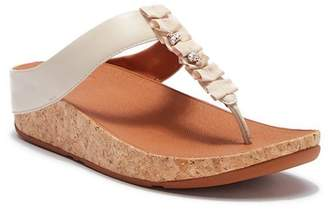FitFlop Ruffle Toe-Thong Sandals