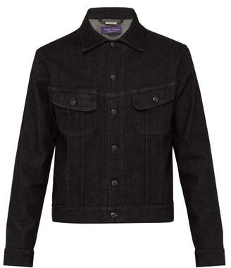 Ralph Lauren Purple Label Denim Jacket - Mens - Black