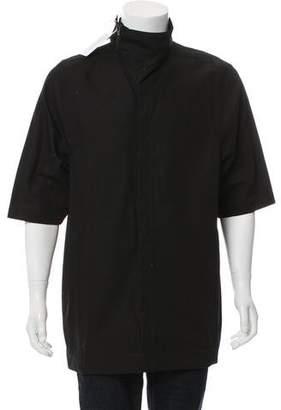 Rick Owens Short Sleeve Cowl Neck Jacket w/ Tags