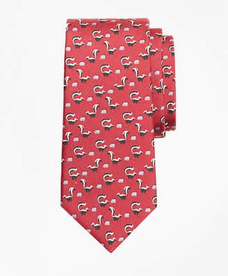Brooks Brothers Boys Skunk Print Tie