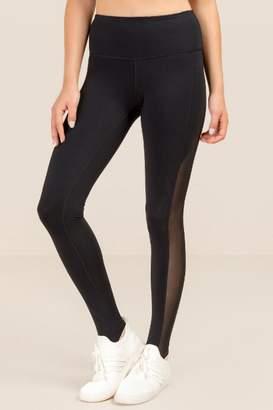 francesca's Nastassia Stirrup Bottom Legging - Black