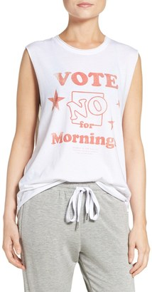 The Laundry Room No Mornings Muscle Tank $54 thestylecure.com