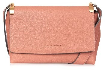 Topshop Topshop Olney Faux Leather Crossbody - Beige