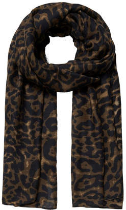 Forever New Jessica Leopard Print Scarf