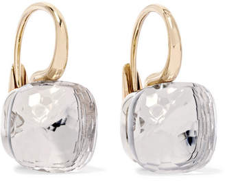 Pomellato Nudo Classic 18-karat Rose Gold Topaz Earrings