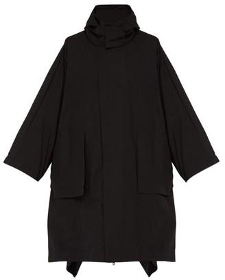 Craig Green 5 Moncler Tensor Hooded Cape Coat - Mens - Black