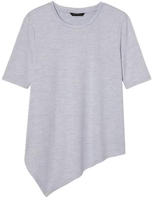 Banana Republic Soft Jersey Handkerchief Hem T-Shirt