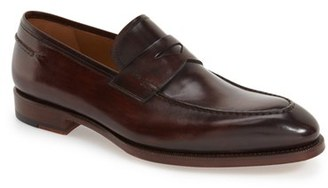 Men's Magnanni 'Tevio Ii' Penny Loafer $395 thestylecure.com