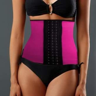 TellSell Women's Instant Slimming Curvy Waist Cincher - Pink Large