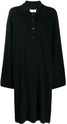 Maison Margiela oversized collared knitted dress