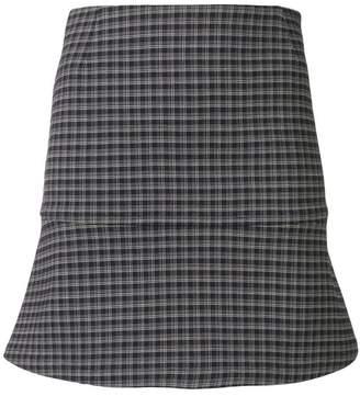 Sonia Rykiel mini check skirt