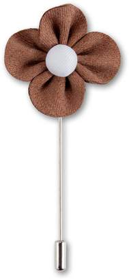 Aster Puentes & Co Men's Lapel Flower Handmade Boutonniere Pin for Suit