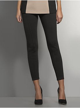 New York & Co. The CityKnit Collection Flat Front Ankle Leggings