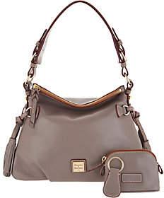 Dooney & Bourke Smooth Leather Shoulder Bag-Teagan