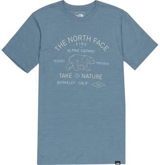 The North Face Tri-Blend Edge To Edge Bear T-Shirt - Men's