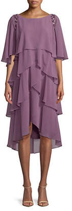 IGNITE EVENING Embellished Tier Dress