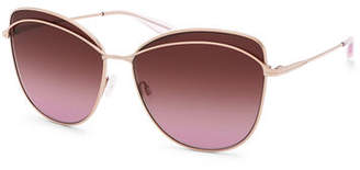 Barton Perreira Captivant Butterfly Sunglasses